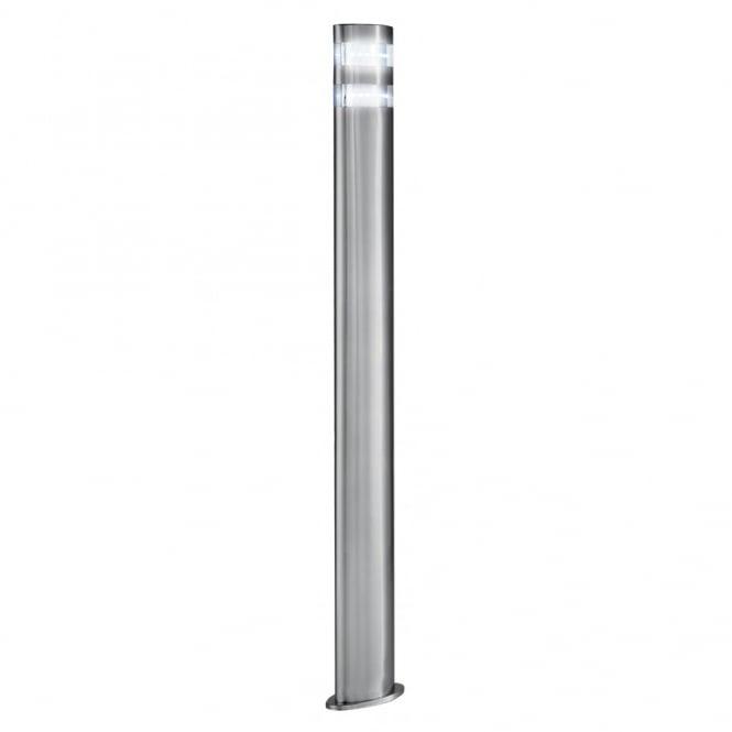Lighting Catalogue LED GARDEN POST LIGHT Low Energy Satin Silver