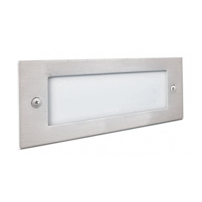 Lighting Catalogue LED recessed low energy LED wall light