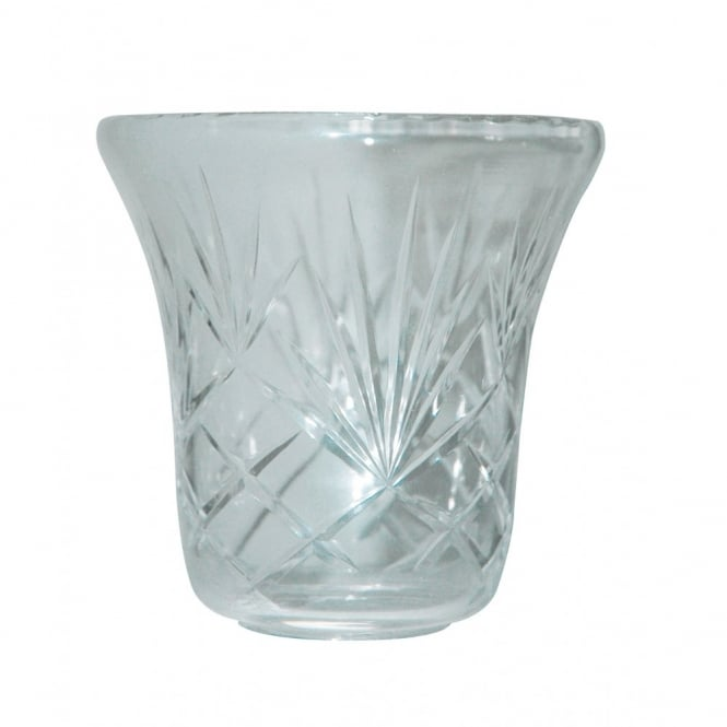 MALAGA hand cut lead crystal glass shade