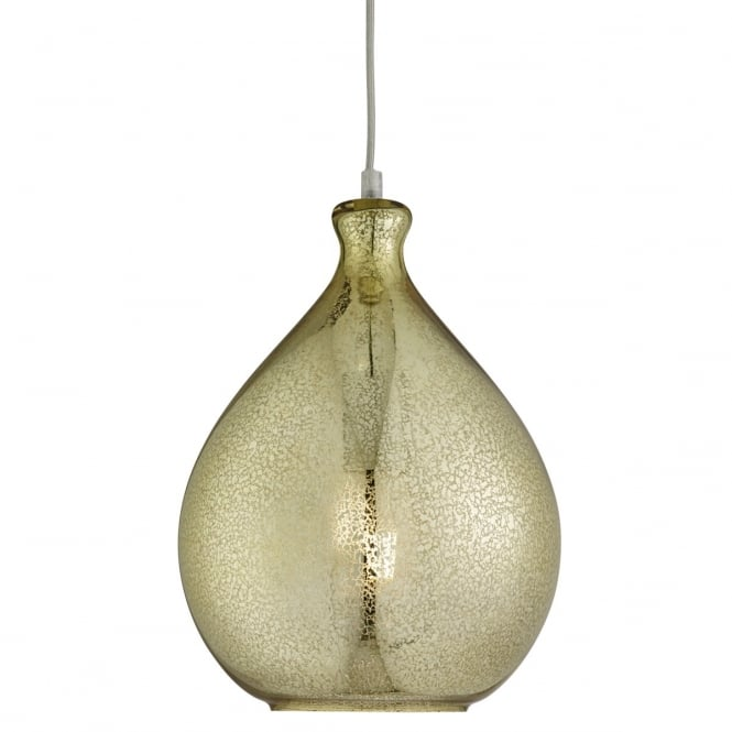 Lighting Catalogue MERCURY textured gold glass ceiling pendant