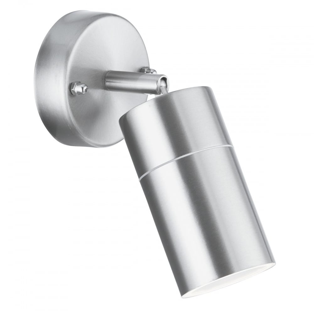 Single Stainless Steel Directional Wall Spot Light Ip44