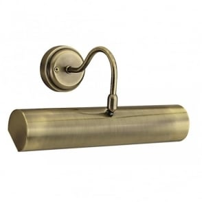Picture Light Brass: PICTURE LIGHT antique brass short length with switch,Lighting