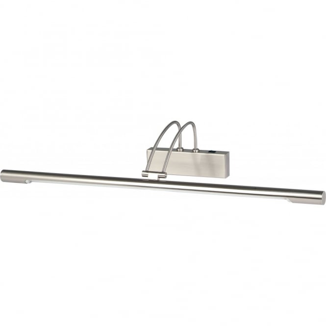 Lighting Catalogue PICTURE LIGHT longer length low energy in satin silver