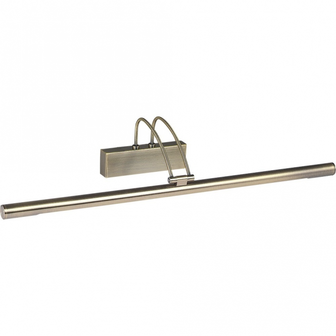 Lighting Catalogue PICTURE LIGHT low energy slimline in antique brass