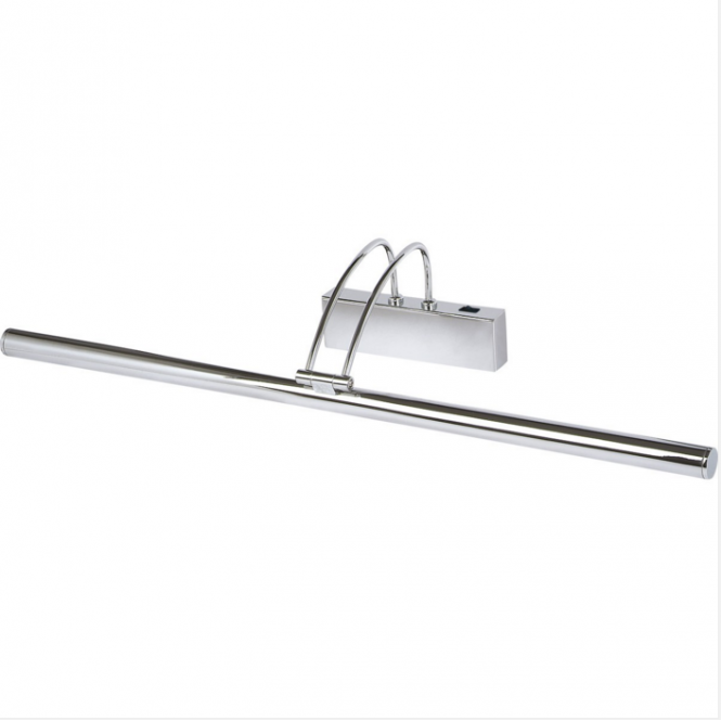 Lighting Catalogue PICTURE LIGHT slimline chrome longer length