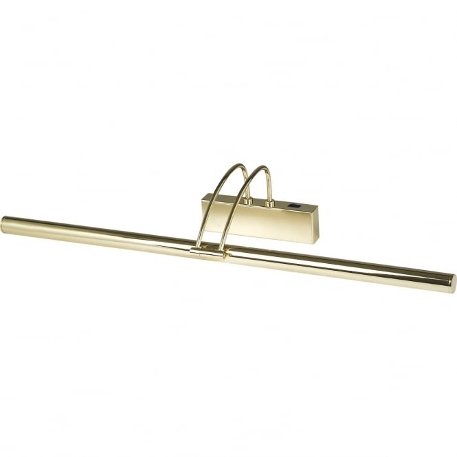 Lighting Catalogue PICTURE LIGHT slimline gold low energy longer length