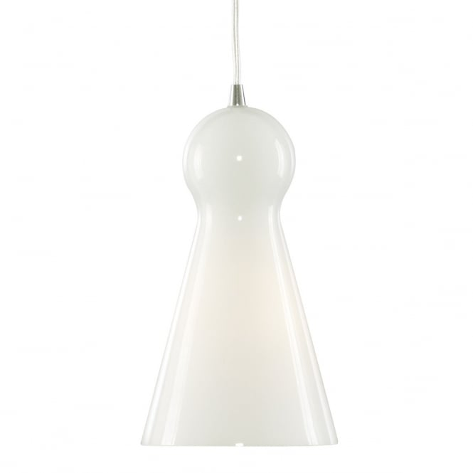 Lighting Catalogue SKITTLE opal glass single ceiling pendant