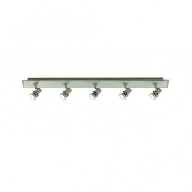 Buy Kitchen Ceiling Spotlights. Top Hat 5 Spots On Satin