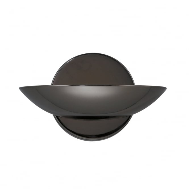 Lighting Catalogue UPLIGHTER wall light in black chrome