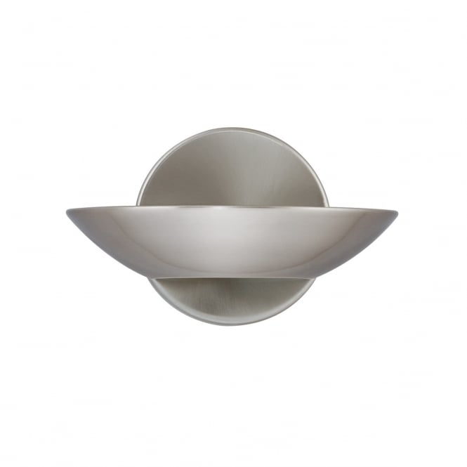 Lighting Catalogue UPLIGHTER wall light in satin silver