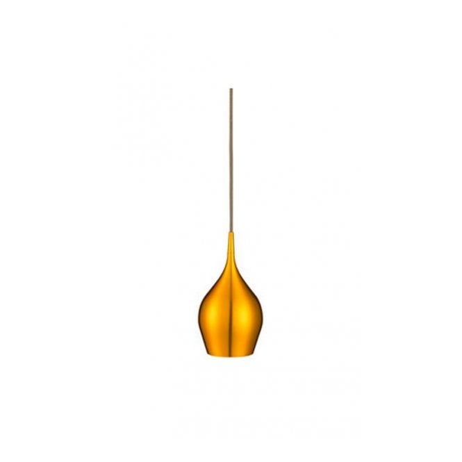 Lighting Catalogue VIBRANT contemporary single gold finished metal pendant