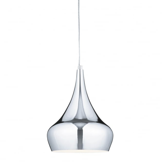 Lighting Catalogue YURT polished chrome modern ceiling pendant
