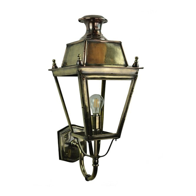 Limehouse BALMORAL Victorian exterior brass and copper lantern