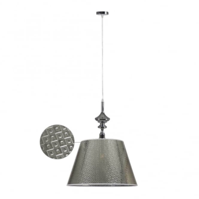 Linea Verdace ALADDIN contemporary ceiling pendant (chrome)