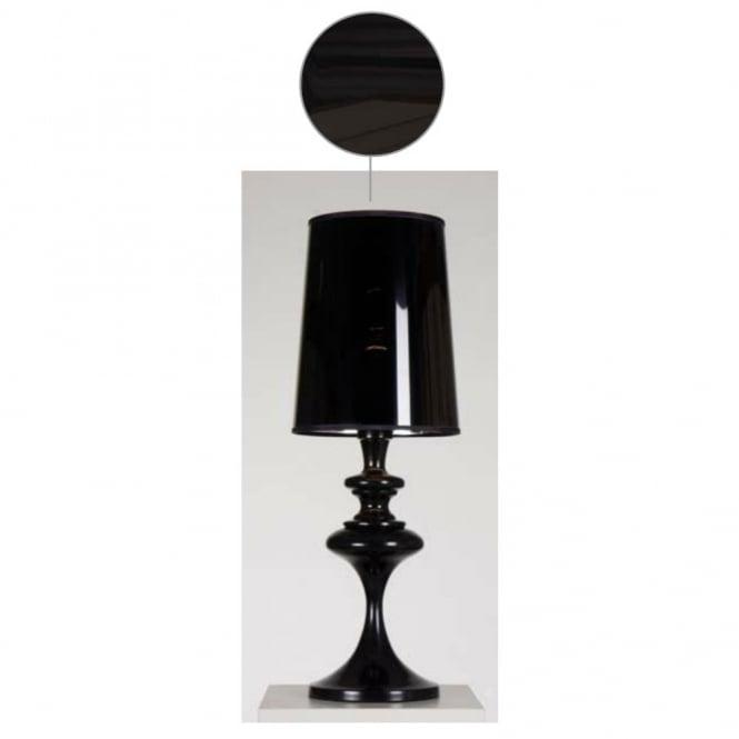 ALADDIN Contemporary Table Lamp (glossy Black)