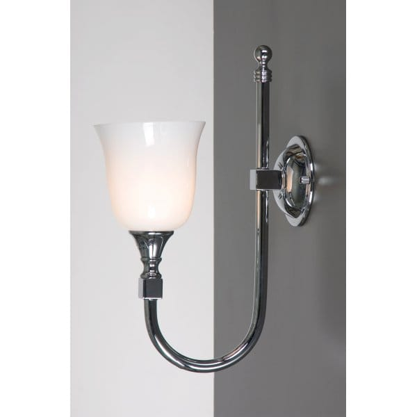 Linea verdace bath classic chrome ip44 traditional for Traditional bathroom wall lights