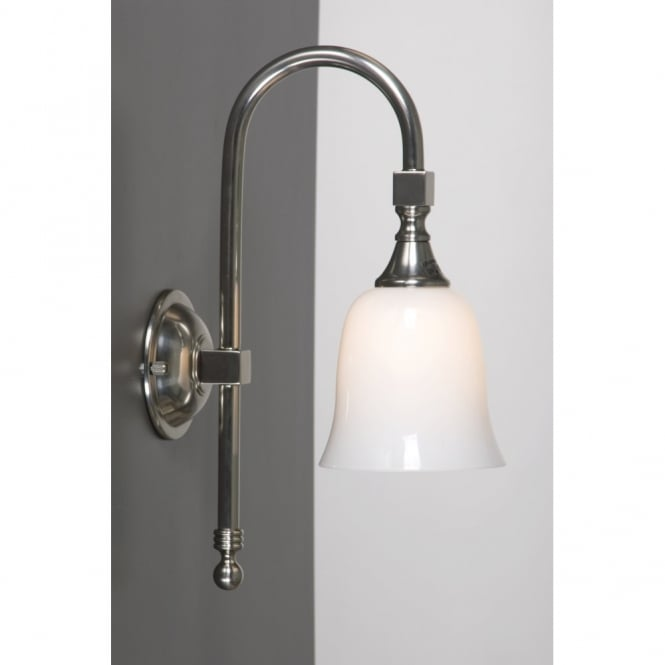 Linea Verdace BATH CLASSIC satin nickel IP44 traditional bathroom wall light
