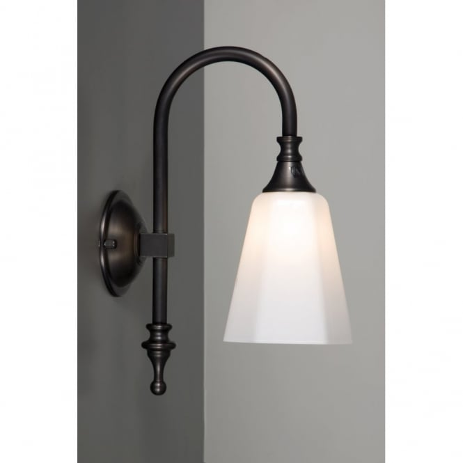 traditional bathroom wall light aged brass opal white ForTraditional Bathroom Wall Lights