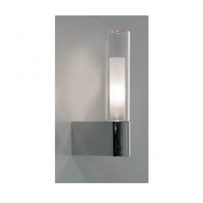 Linea Verdace BATH IP44 rounded two shade chrome bathroom wall light