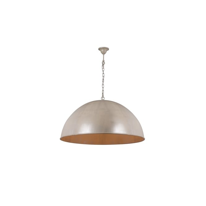 CUPULA CLASSIC dome ceiling pendant in beach ivory finish (small)