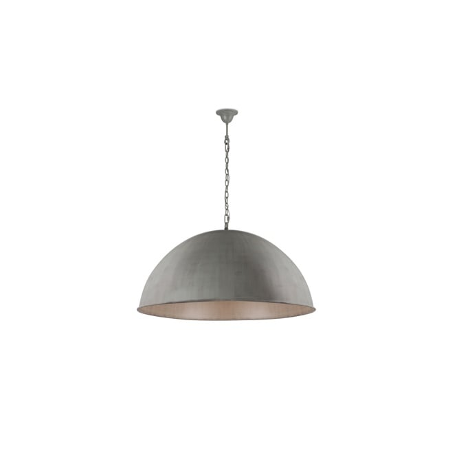 Linea Verdace CUPULA CLASSIC dome ceiling pendant in grey taupe finish (large)