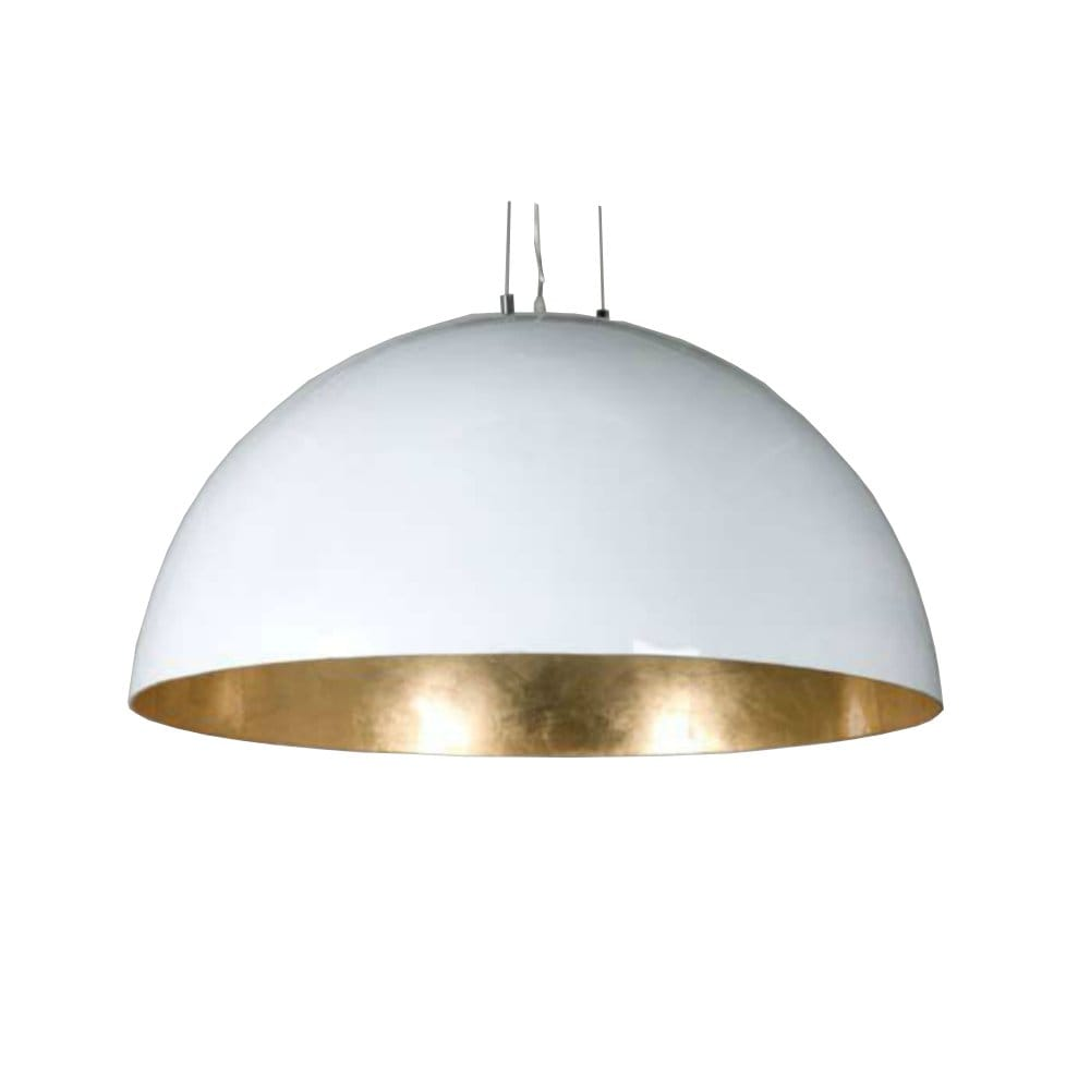 Gold inner white outer finish ceiling pendant ideal Modern pendant lighting