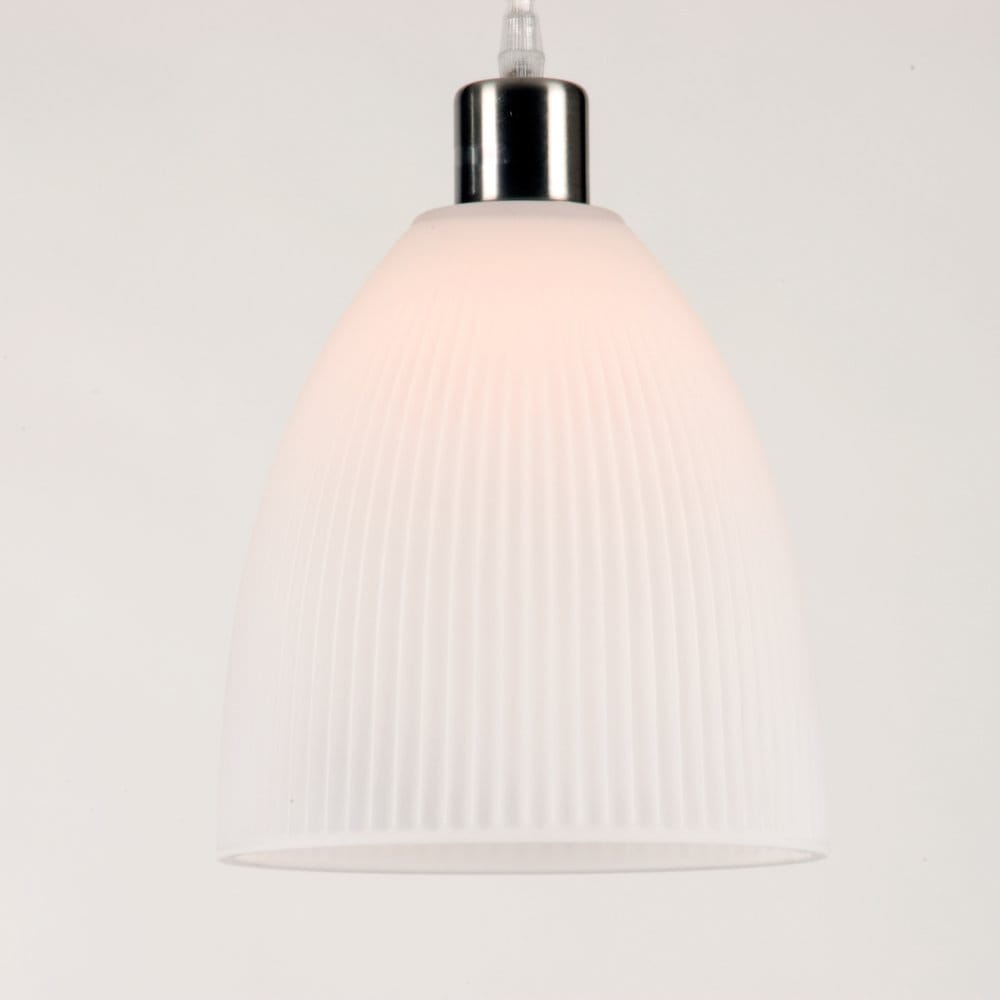 White Glass Ceiling Light Shade For Using With Hanging