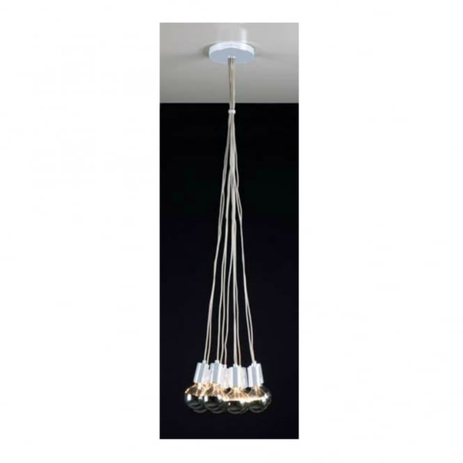 Linea Verdace GLOBE TROTTER contemporary ceiling cluster pendant (white)