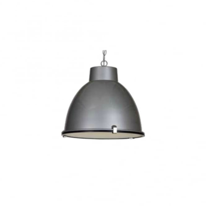 Linea Verdace HANGAR industrial style ceiling pendant (silver)