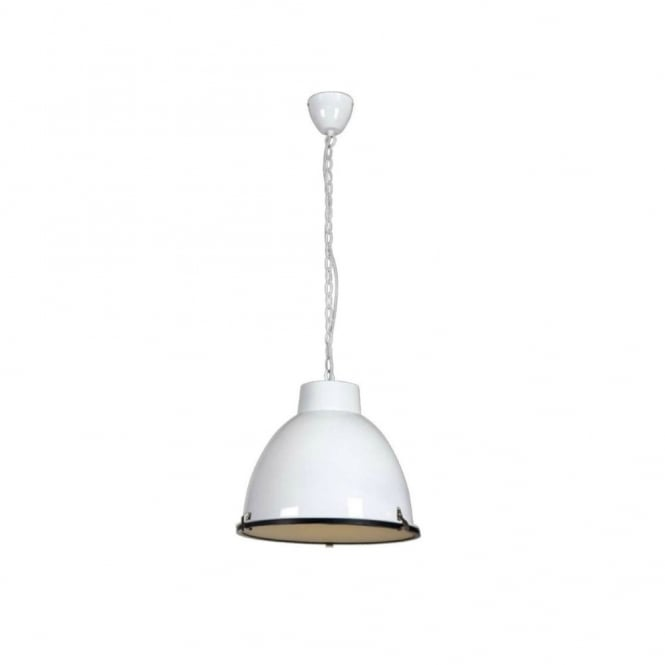 Linea Verdace HANGAR industrial style ceiling pendant (white)