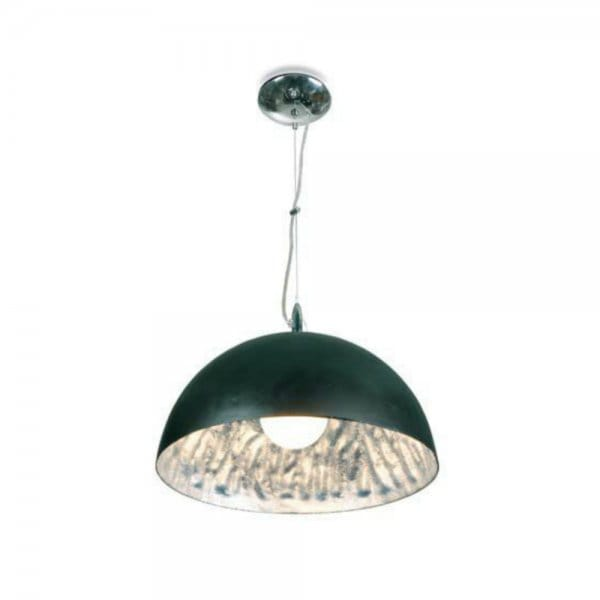 Modern Black Amp Silver Ceiling Pendant Ideal Over Table