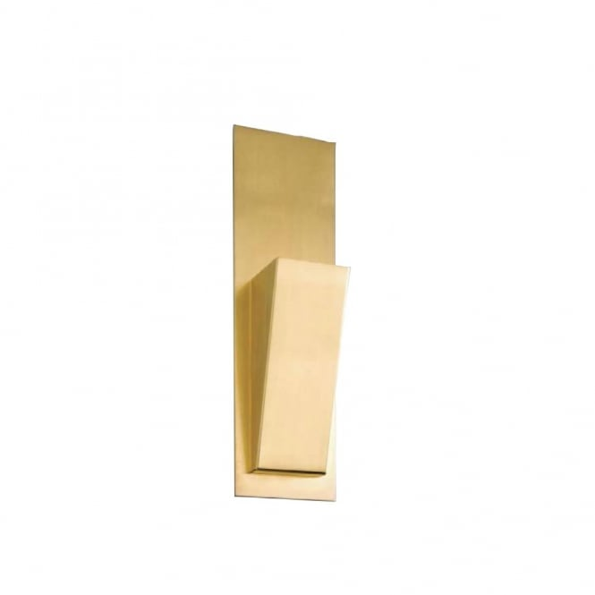 Linea Verdace VARIO polished satin brass contemporary wall light