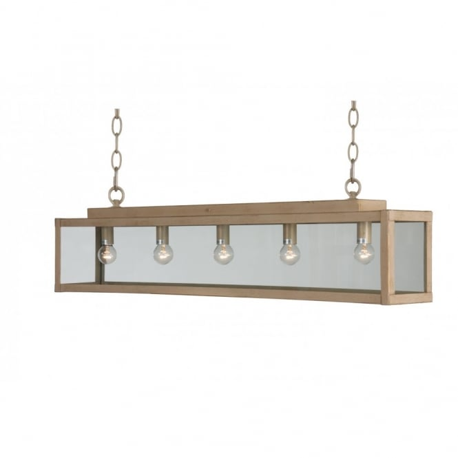 Linea Verdace ZENIA rustic suspended bar ceiling pendant light