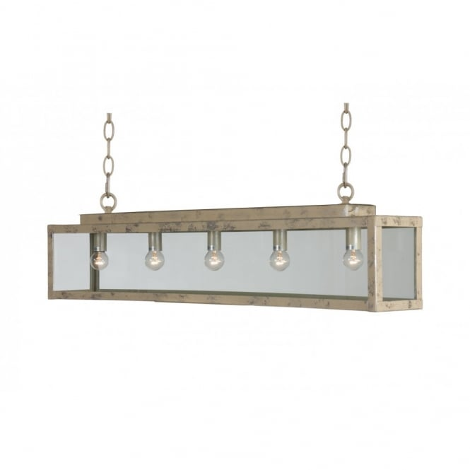 Linea Verdace ZENIA traditional cream suspended bar ceiling light