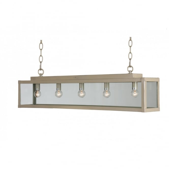 Linea Verdace ZENIA traditional long bar suspended ceiling pendant