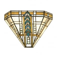 Art Deco Tiffany Wall Washer Light