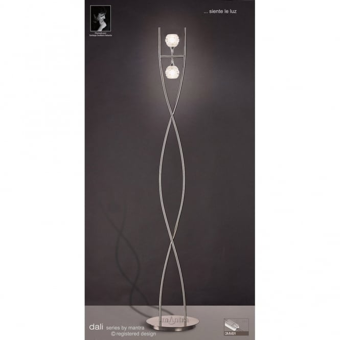 Buy Modern Standard Lamp Sculptured Glass affordable Designer Floor ...