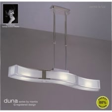 DUNA low energy suspended bar ceiling light