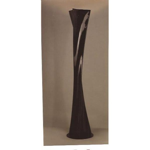 Twist modern black floor standing lamp for contemporary room for Modern contemporary floor lamp