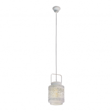 MARRAKECH decorative traditional ceiling pendant light in rustic grey finish