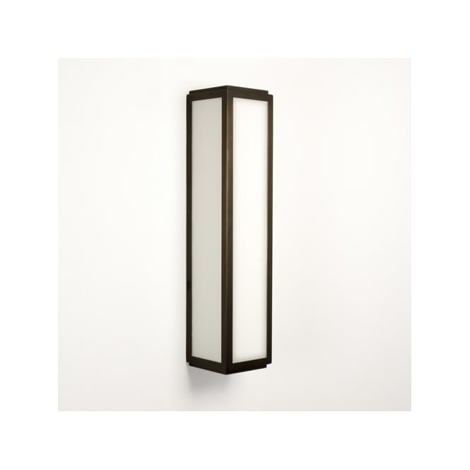 MASHIKO CLASSIC 360 bronze bathroom wall light  sc 1 st  The Lighting Company & Modern Bathroom Wall Light in Bronze IP44 Rated for Safe Bathroom Use