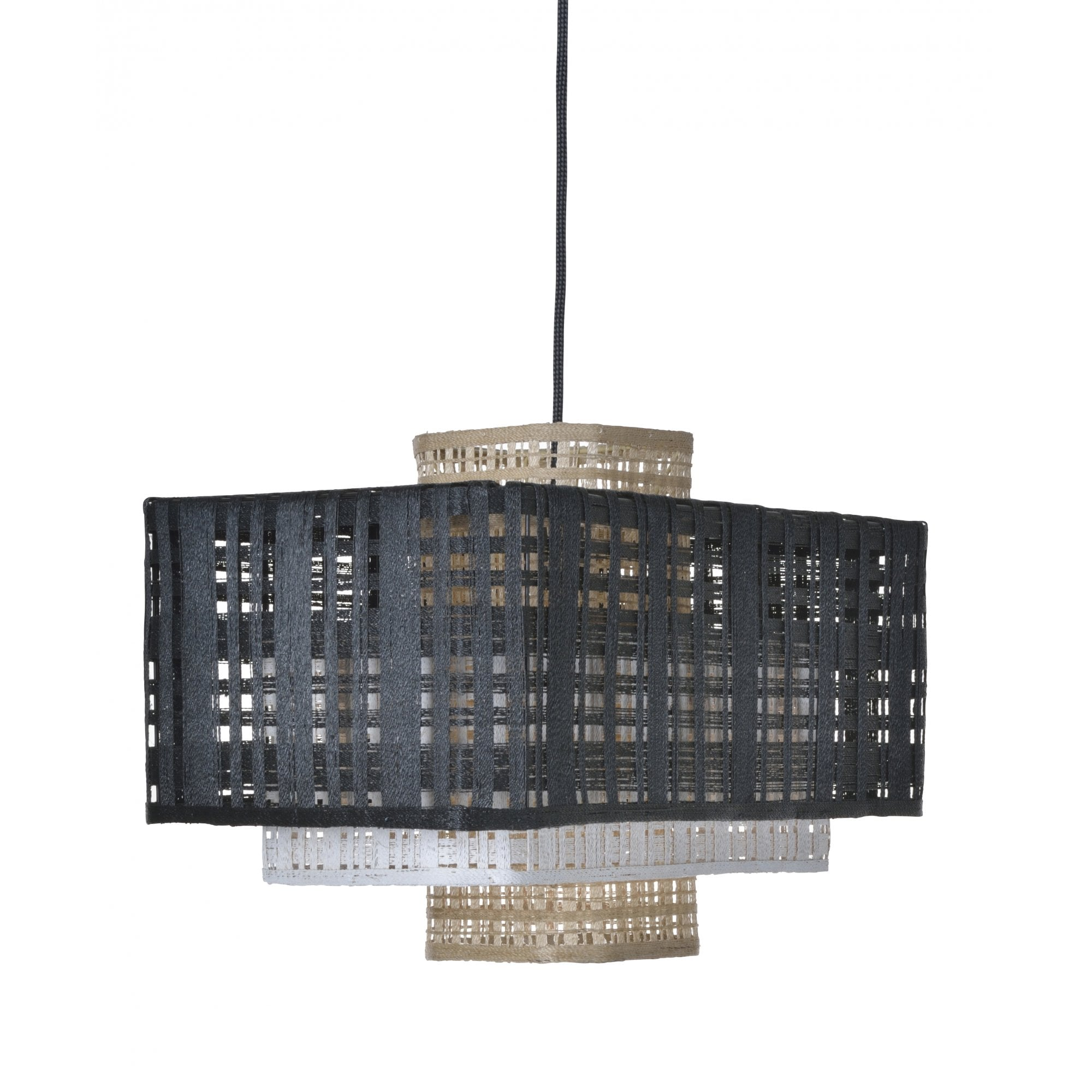Woven 3 Stacked Ceiling Pendant Lighting Company