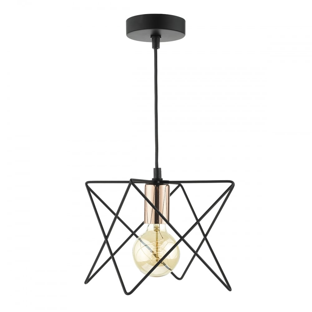 large the pendant tribecca geometric designer product interior chrome