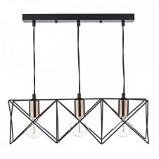 Pendant bar lights multi light pendants for tables and islands pendant light geometric mid century retro mozeypictures Choice Image