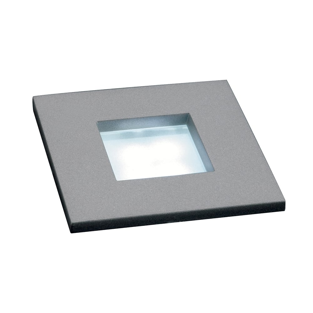 Small LED Recessed Stair Light or Plinth Light