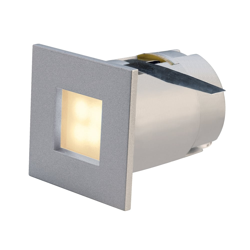 Small square led recessed stair light or plinth light mini frame led small recessed led wall or ceiling light aloadofball Gallery