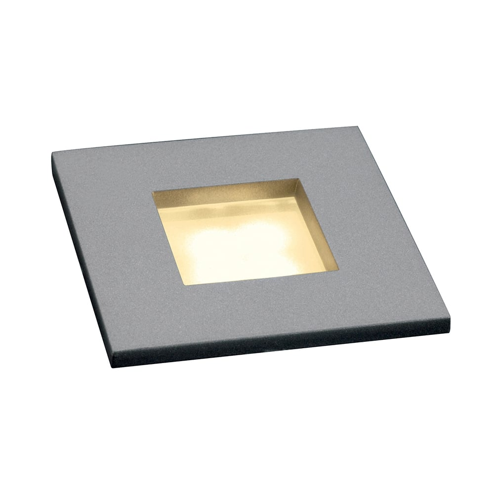 Small square led recessed stair light or plinth light mini frame led small recessed led wall or ceiling light aloadofball Images