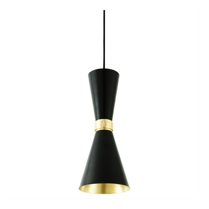 Monaghan Lighting CAIRO Contemporary Pendant Light in Powder Coated Matte Black