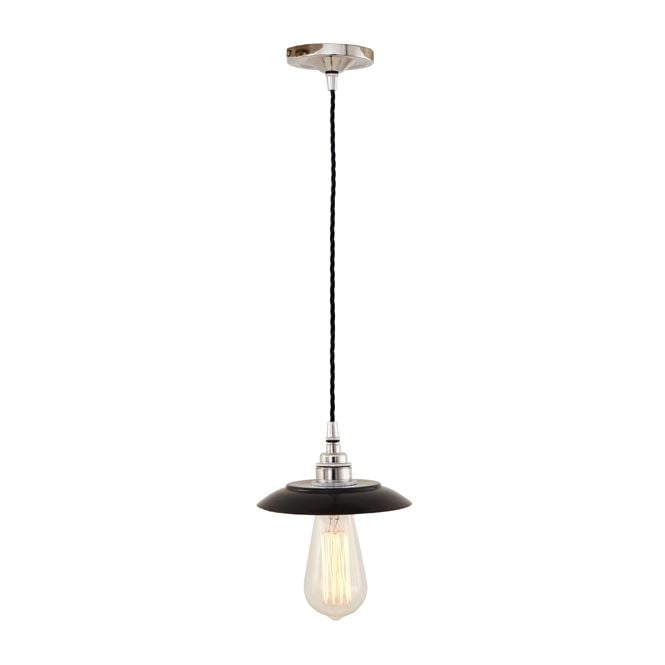 Monaghan Lighting REZNOR Industrial Pendant Light in Powder Coated Black
