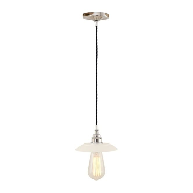 Monaghan Lighting REZNOR Industrial Pendant Light in Powder Coated White